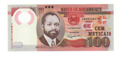 Mozambique 100 metical meticais bill note uncirculated UNC