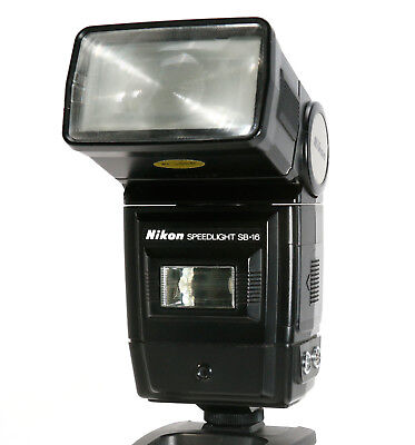 Nikon Speedlight SB-16 Flash  - Very Clean and Tested