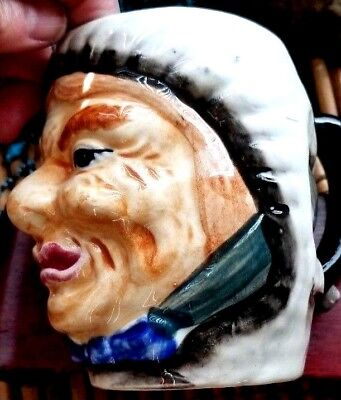 "Female Toby Jug 5"" Japan Vintage UGLY OLD WITCH HAG  GREAT GAG GIFT"