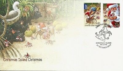 2014 Christmas Island - Christmas First Day Cover FDI