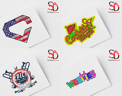 Professional Custom Logo Design.  Source File. Unlimited Revisions