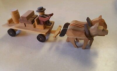 Putz German wooden wagon for village - made in Germany