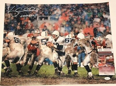KERRY COLLINS AUTOGRAPHED SIGNED INSCRIBED PENN STATE 16x20 PHOTO JSA COA 67416b219