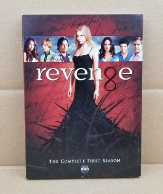 Revenge: The Complete First Season 1 (DVD, 2012, 5-Disc Set) ABC - NEW & SEALED