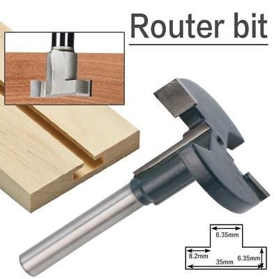 1x 1 4 Shank Straight T Track T Slot Router Bits Woodworking