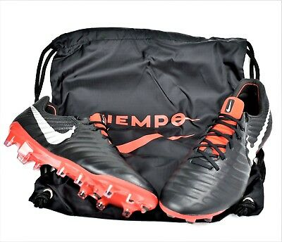 7306b4654 Nike Tiempo Legend 7 Elite Fg Leather New Men s Women s Soccer Cleats Black