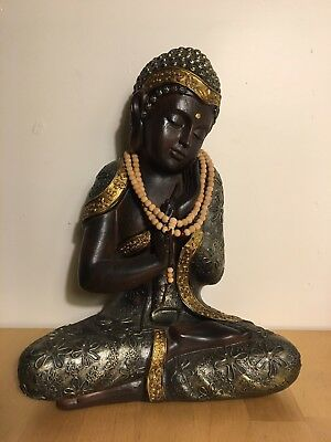 Large Buddha Seated Tranquil Statue