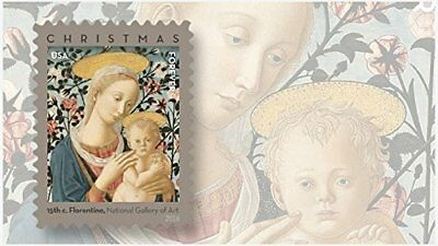 ⭐️ Florentine Madonna and Child USPS Forever First Class Postage Stamp U.S.