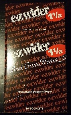 EZ Wider 1 1/2 Rolling Papers 24 Booklet