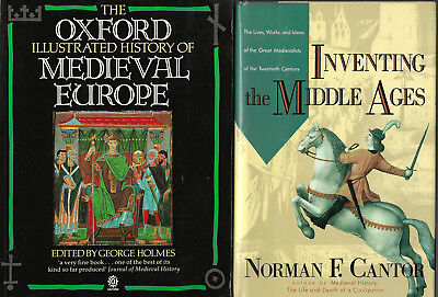 Medieval Europe Oxford Illustrated History & Inventing Middle Ages 2 Book Lot