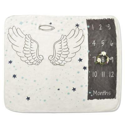 Newborn Baby Infants Milestone Blanket Mat Photography Prop Monthly Growth AU