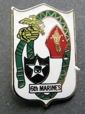 Us Marine Corps 6Th Marines Regiment Lapel Pin Badge 1 Inch Usmc