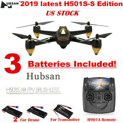 Hubsan X4 H501S S FPV RC Drone Brushless 1080P Return to Home GPS Quadcopter RTF