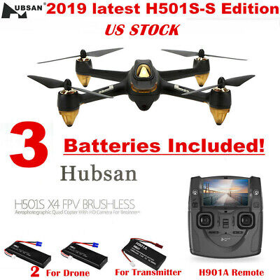 Hubsan X4 H501S S FPV RC Quadcopter Brushless 1080P Return to Home GPS Drone RTF