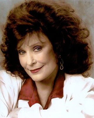 """LORETTA LYNN COUNTRY WESTERN SINGER & LEGEND 8x10"""" HAND COLOR TINTED PHOTOGRAPH"""