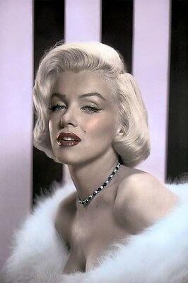 """MARILYN MONROE HOLLYWOOD ACTRESS LOT OF TEN (10) 8x10"""" HAND COLOR TINTED PHOTOS"""