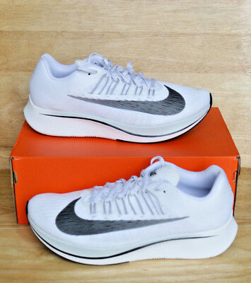 061ddf727ddc8 Nike Zoom fly Running Shoes White Black Pure Platinum 880848-100  Mult Size
