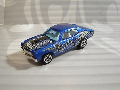 Hot Wheels Sciolto = `70 Chevrolet Chevelle Ss = Blu 5sp Taxi