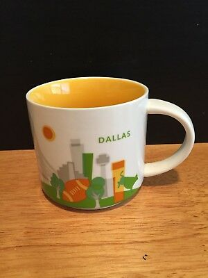 Starbucks You Are Here Dallas (TX) 14 oz. Collection Coffee Mug Cup (2015)