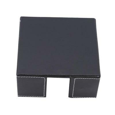Durable Room Car Pu Leather Square Tissue Paper Holder Case PU Leather Box JJ