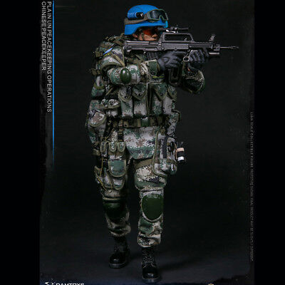 DAMTOYS 78062 1/6 Chinese Peacekeeper -PLA in UN Peacekeeping Operations
