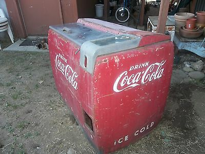 Coca Cola Old Used Large Ice Chest
