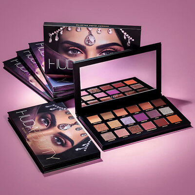 2018 New Huda Beauty Desert Dusk Eye Shadows Palette Eye Shadows 18 Colors GY