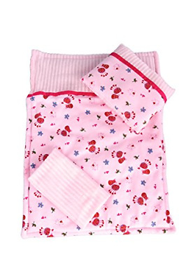 Perfect Bedding - Set for 18 inch American Girl Doll, Comforter Blanket Pillow