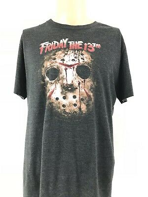 2fa09597cf4 Friday the 13th Jason Mask Old Navy T-shirt Scary Movie Graphic T Shirt Size