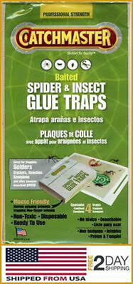 Glue TRAPS Professional STRENGTH Disposable NON-Toxic Per Package For Insect NEW