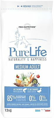Pure Life Puppy 12 kg  Naturality & Happiness MEDIUM ADULT