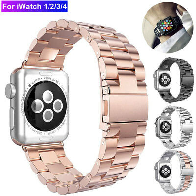 Stainless Steel Wrist Watch Band Strap for Apple Watch iWatch Series4 3  40 44mm
