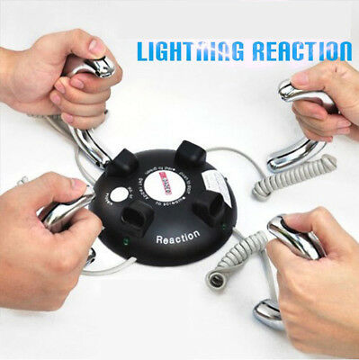Fun Electric Shock Game Lightning Reaction Party Board Game Novelty 2-4 Players