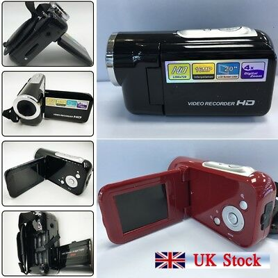 16MP Mini Digital Camera DV Camcorder 2.0″ LCD 4X Zoom Kids Children Gift UK