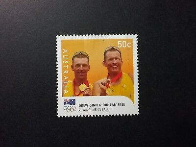 2008 BEIJING OLYMPICS MEDALIST 50c ROWING sheet fu will combine postage