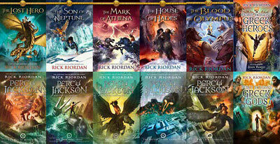 The PERCY JACKSON Collection By Rick Riordan (12 MP3 Audiobook Collection)