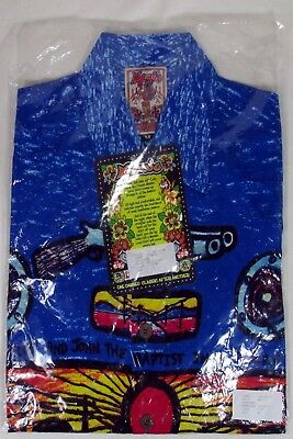 "Vintage Mambo Loud Shirt ""ned Kelly"" Still Sealed In Original Pack Size M"