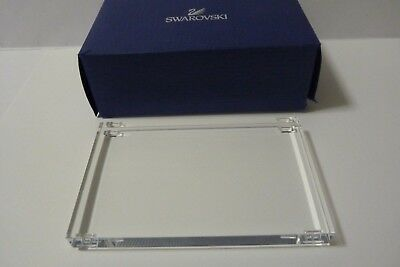 Swarovski Crystal Stand Mint In Box