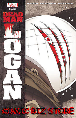 Dead Man Logan #2 (Of 12) (2018) 1St Printing Shalvey Main Cover Marvel Comics