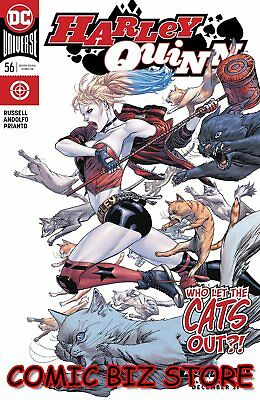 Harley Quinn #56 (2018) 1St Printing March Main Cover Dc Universe