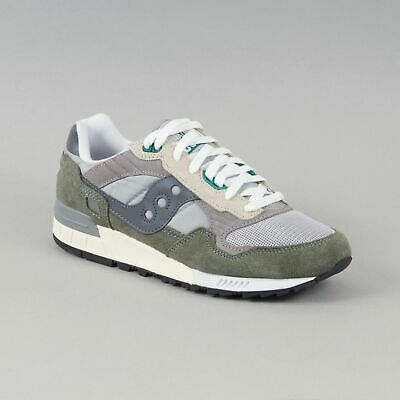 f5e3aaa9 SAUCONY SHADOW 5000 Vintage Trainers in GREY & GREEN