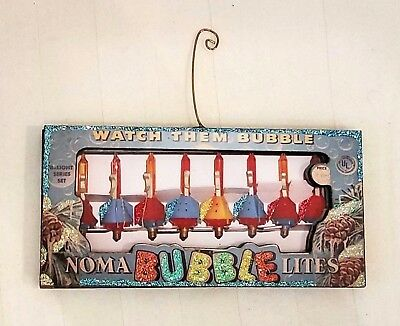 Noma Christmas tree bubble lights in box ~ 3D GlittereD OrnamenT VintagE ImagE
