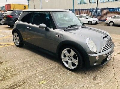 MINI Hatch 1.6 Cooper S 3dr 2006 Manual Petrol In Grey Spares Or Repair