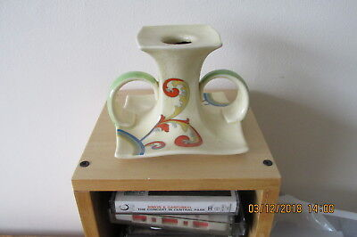 Royal Doulton Syren Twin Handled Candlestick