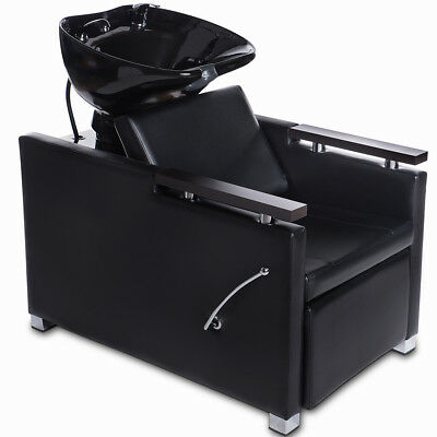 Bac shampoing fauteuil bac lavage cuvette basculante barbiers chaise spa f5133+