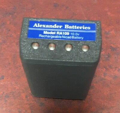 ALEXANDER BATTERIES PRC-127 Rechargeable Nicad Battery Model RA-109