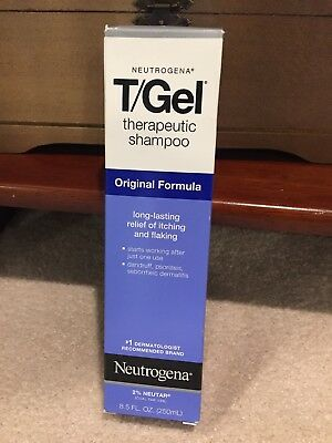 Neutrogena T/Gel Therapeutic Shampoo Original Formula 8.5 Ounces NEW in Box