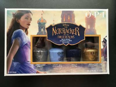 OPI Nutcracker & the 4 Realms Mini Nail Polish Set 4 x 3.75ml New in Box