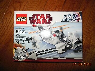 Lego Star Wars #8084 Snowtrooper Battle Pack NIB Sealed Retired AT-AT Driver +