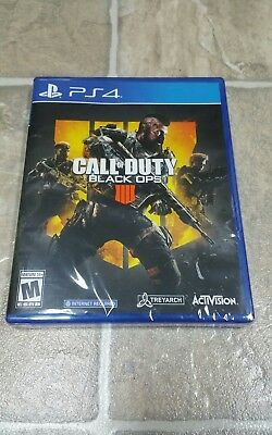 Call of Duty: Black Ops 4  -  PlayStation 4  PS4 Brand New Sealed